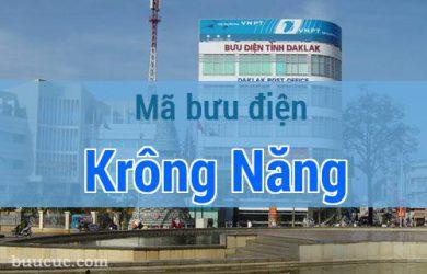 Mã bưu điện Krông Năng, Đắk Lăk