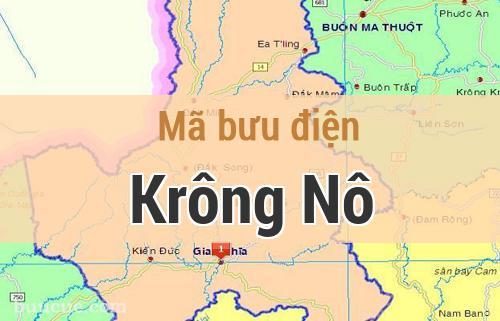 Mã bưu điện Krông Nô, Đắk Nông