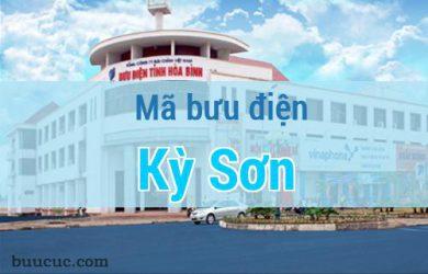 Mã bưu điện Kỳ Sơn, Hoà Bình