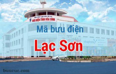 Mã bưu điện Lạc Sơn, Hoà Bình