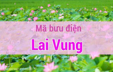 Mã bưu điện Lai Vung, Đồng Tháp