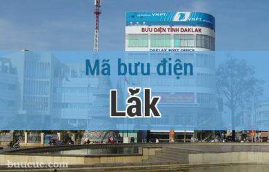 Mã bưu điện Lắk, Đắk Lăk