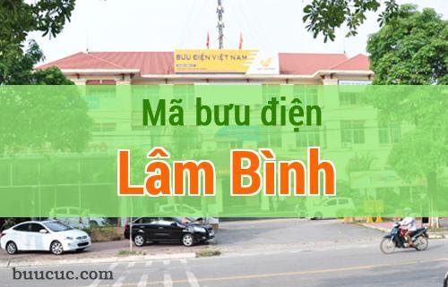 Mã bưu điện Lâm Bình, Tuyên Quang