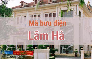 Mã bưu điện Lâm Hà, Lâm Đồng