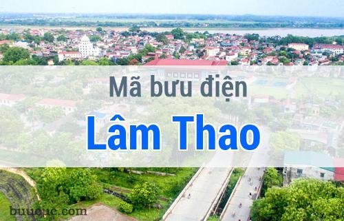 Mã bưu điện Lâm Thao, Phú Thọ