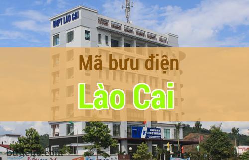 Mã bưu điện Lào Cai, Lào Cai