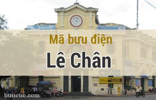 Mã bưu điện Lê Chân, Hải Phòng