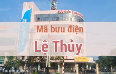 Mã bưu điện Lệ Thủy, Quảng Bình