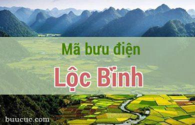 Mã bưu điện Lộc Bình, Lạng Sơn