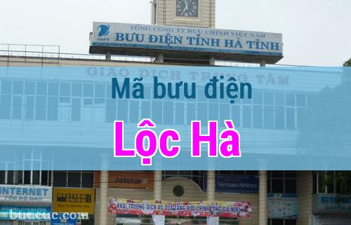 Mã bưu điện Lộc Hà, Hà Tĩnh