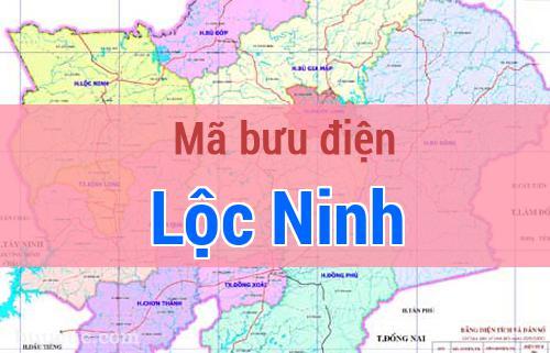 Mã bưu điện Lộc Ninh, Bình Phước