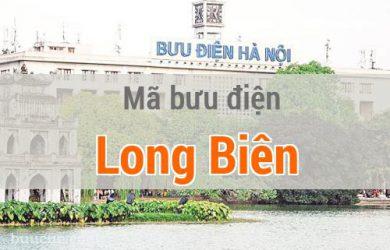 Mã bưu điện Long Biên, Hà Nội