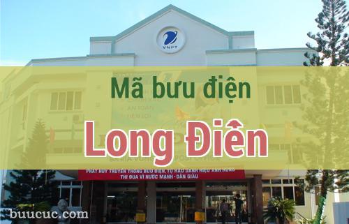 Mã bưu điện Long Điền, Bà Rịa Vũng Tàu