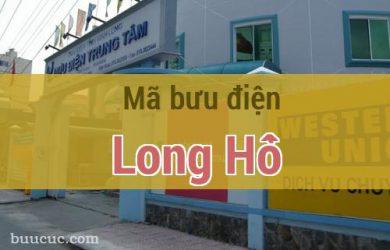 Mã bưu điện Long Hồ, Vĩnh Long