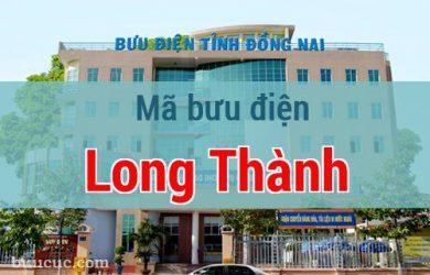 Mã bưu điện Long Thành, Đồng Nai