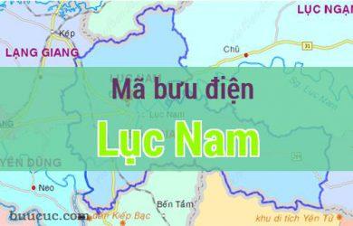 Mã bưu điện Lục Nam, Bắc Giang