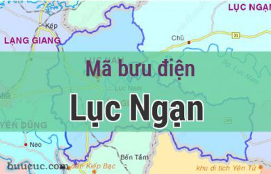 Mã bưu điện Lục Ngạn, Bắc Giang