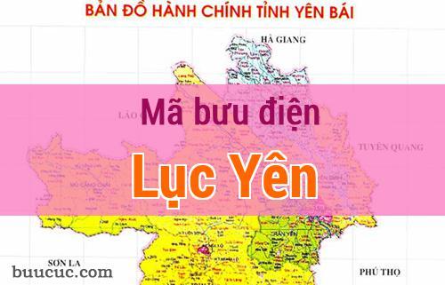 Mã bưu điện Lục Yên, Yên Bái
