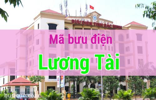 Mã bưu điện Lương Tài, Bắc Ninh