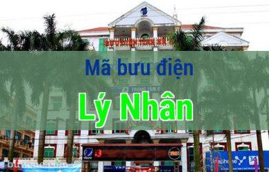 Mã bưu điện Lý Nhân, Hà Nam