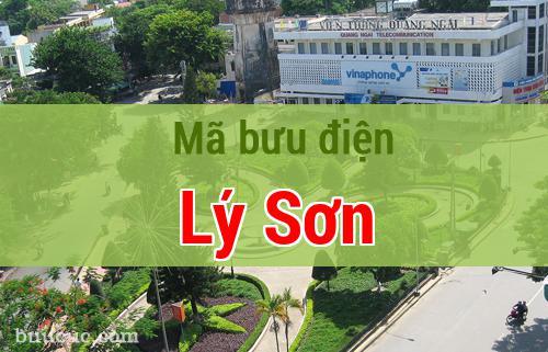 Mã bưu điện Lý Sơn, Quảng Ngãi