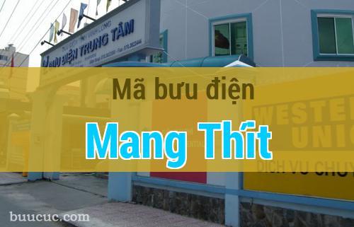 Mã bưu điện Mang Thít, Vĩnh Long