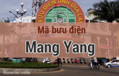 Mã bưu điện Mang Yang, Gia Lai