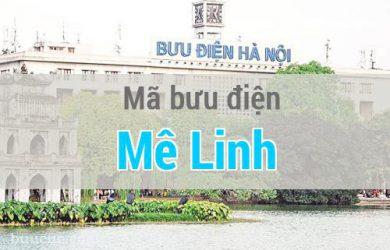 Mã bưu điện Mê Linh, Hà Nội