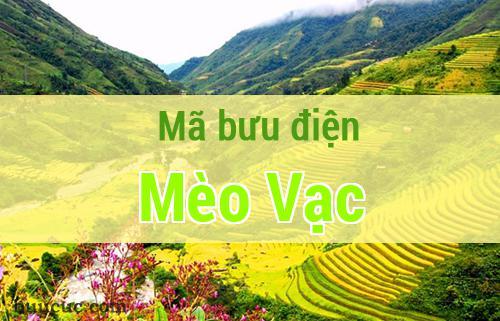 Mã bưu điện Mèo Vạc, Hà Giang