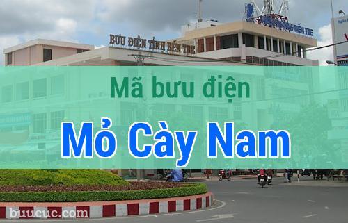 Mã bưu điện Mỏ Cày Nam, Bến Tre