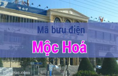 Mã bưu điện Mộc Hoá, Long An