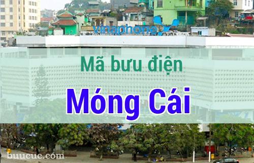 Mã bưu điện Móng Cái, Quảng Ninh