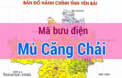 Mã bưu điện Mù Căng Chải, Yên Bái