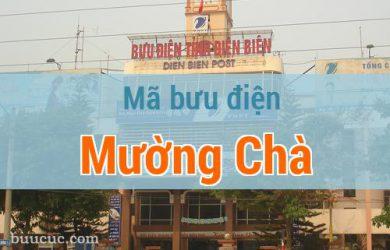 Mã bưu điện Mường Chà, Điện Biên