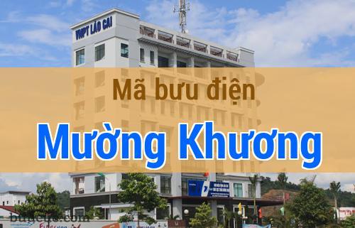 Mã bưu điện Mường Khương, Lào Cai