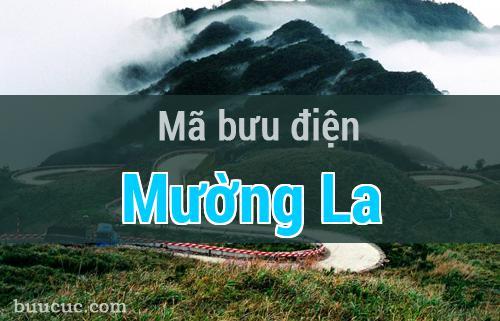 Mã bưu điện Mường La, Sơn La