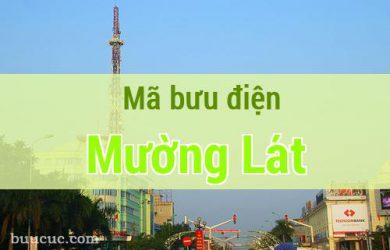 Mã bưu điện Mường Lát, Thanh Hoá
