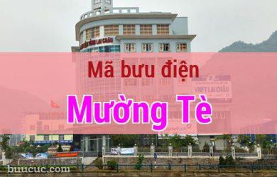 Mã bưu điện Mường Tè, Lai Châu