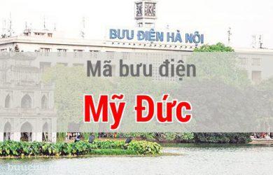 Mã bưu điện Mỹ Đức, Hà Nội