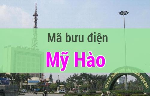 Mã bưu điện Mỹ Hào, Hưng Yên