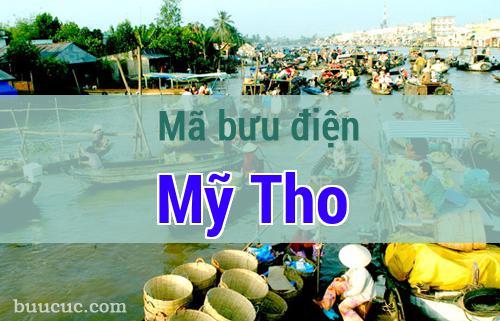Mã bưu điện Mỹ Tho, Tiền Giang