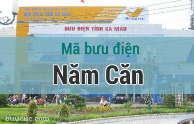 Mã bưu điện Năm Căn, Cà Mau