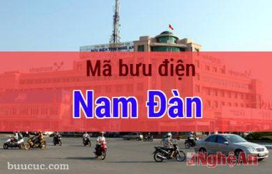 Mã bưu điện Nam Đàn, Nghệ An