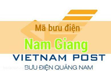 Mã bưu điện Nam Giang, Quảng Nam