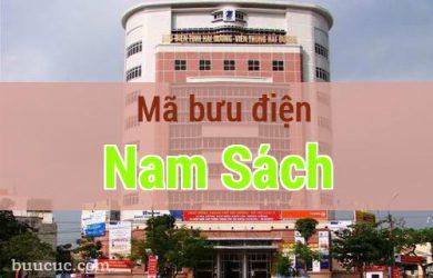 Mã bưu điện Nam Sách, Hải Dương