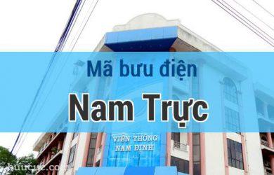 Mã bưu điện Nam Trực, Nam Định