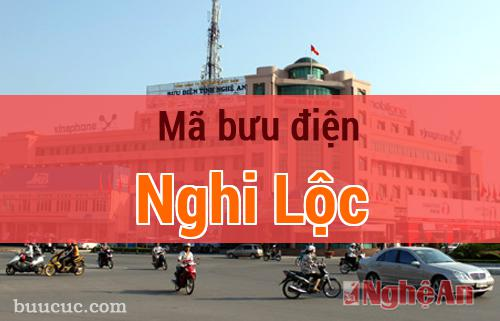 Mã bưu điện Nghi Lộc, Nghệ An