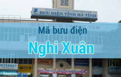Mã bưu điện Nghi Xuân, Hà Tĩnh