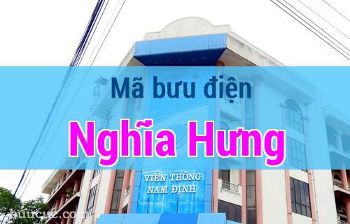 Mã bưu điện Nghĩa Hưng, Nam Định