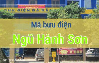 Mã bưu điện Ngũ Hành Sơn, Đà Nẵng